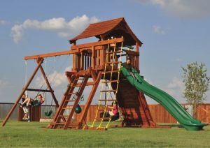 angle leg swing sets, fort ranger, ranger, rope climber, tire swing, rock wall, wooden swing set, swing set, swings, slide, swing set for kids, kids, children, play, playground, playset, sets, accessories, backyard swing set