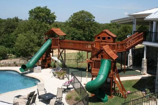 Superbe Backyard Fun Factory Partners With Synchrony Financial. Financing, Swing  Set, Playset, Wooden Swing Set, Slides, Bridges, Monkey