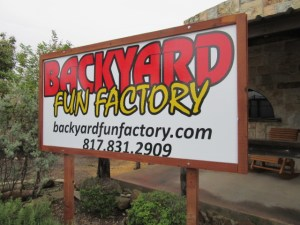 backyard fun factory fort worth store signage, fort worth, swing set store, playset store, patio furniture, trampolines, swing set store near me, playground store near me, swing sets, playsets, playgrounds, outdoor swings, outdoor furniture
