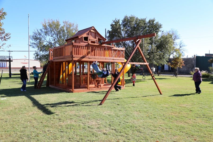 accessories, backyard, Fort Ticonderoga, playset, porch, swing, swing set, outdoor playset
