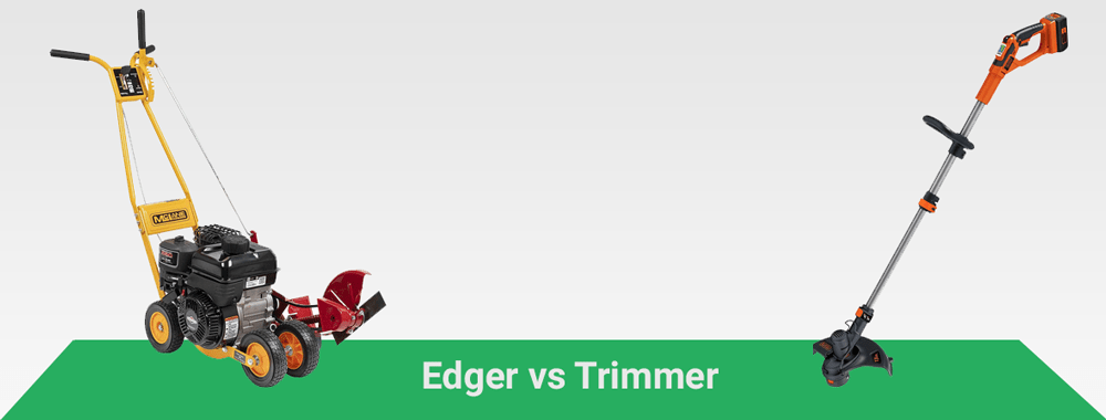 Edger vs. Trimmer