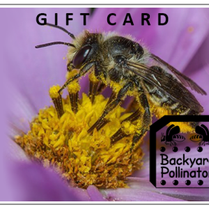 Backyard Pollinator Gift Card