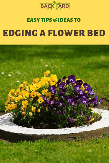 Tips & Ideas to Edging a Flower Bed to Brighten Your Backyard 7