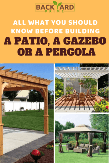 All What You Should Know Before Building a Patio, a Gazebo or a Pergola in your Backyard 10