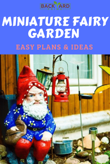 Amazing DIY Miniature Fairy Garden Ideas & Plan in a Simplified Guide 9