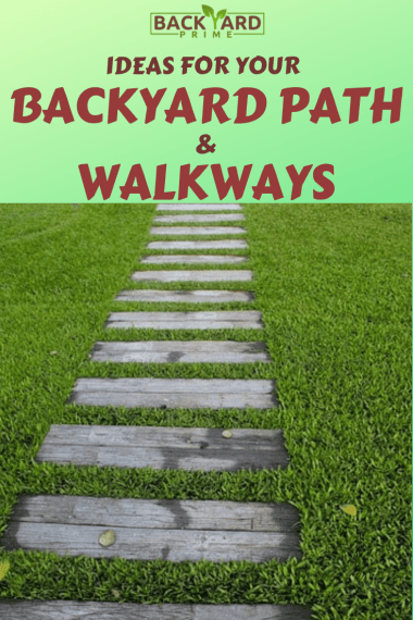 Top 11 Cheap Environment-Friendly Ideas for your Backyard Path & Walkways 12