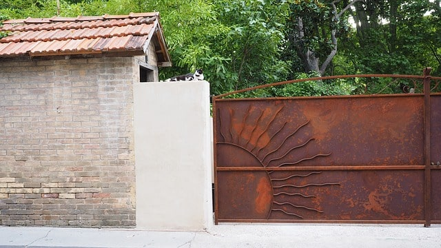 50 Amazing Garden Gates Ideas to Try Today {various materials and design} 10