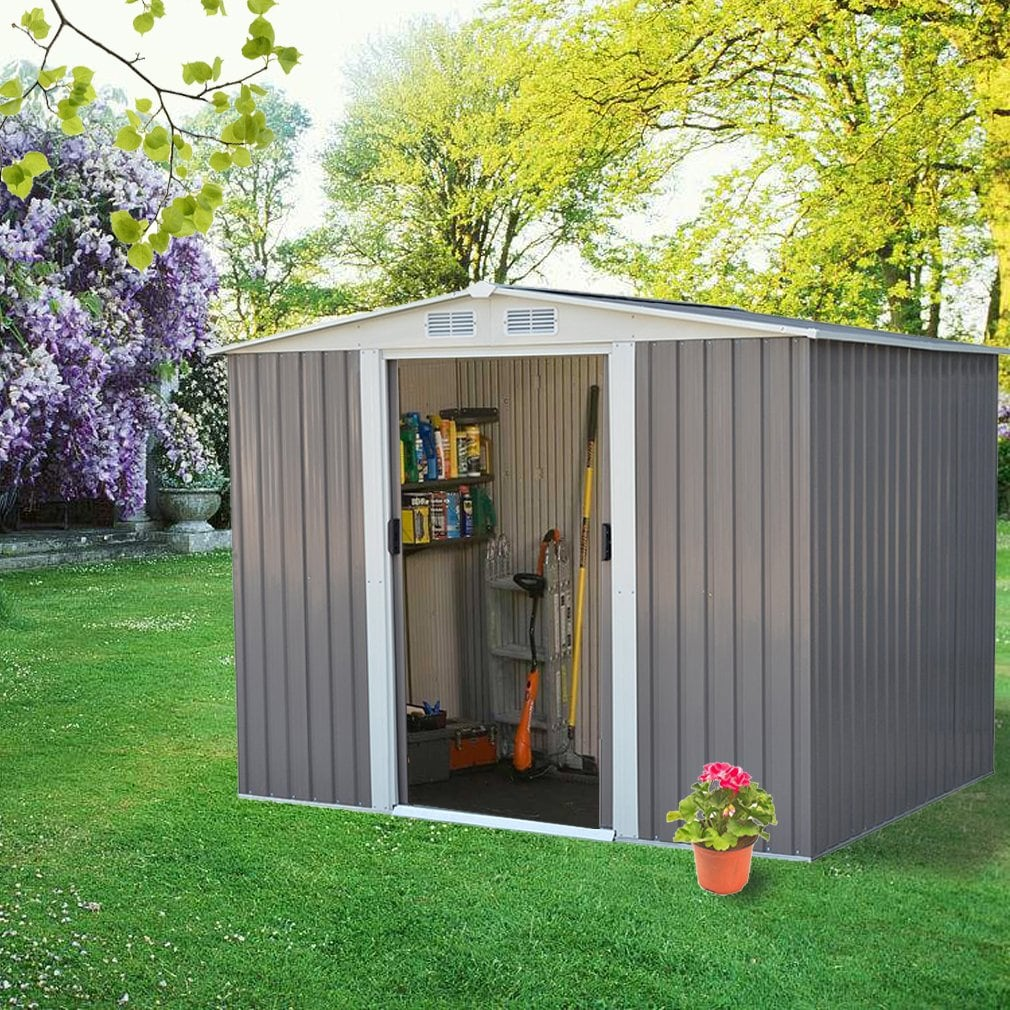 8 Easy Steps to Build an Outdoor Storage Shed for Garden 4