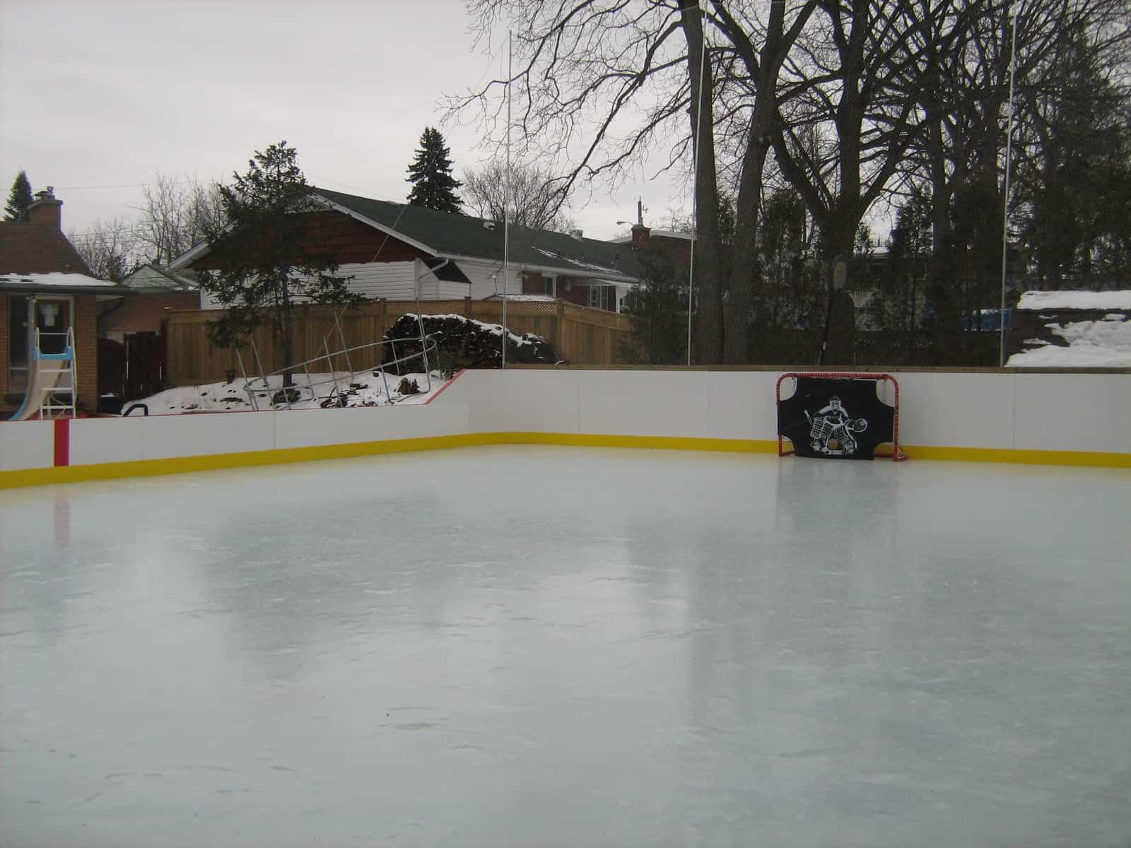 backyard rink liner high quality design