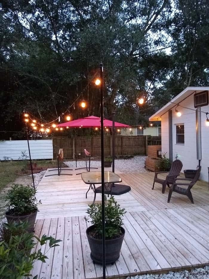 7 ways on how to hang string lights in