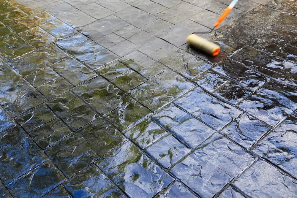 how to clean concrete patio backyardscape