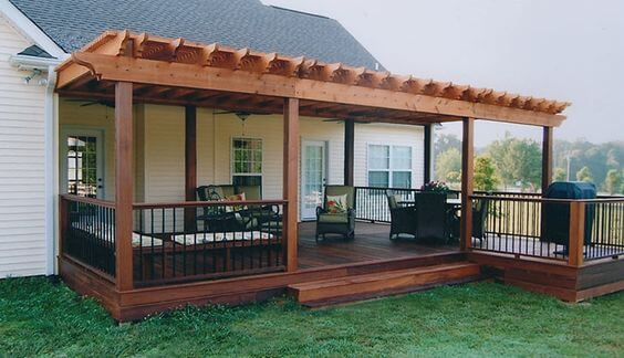 covered deck ideas for your home