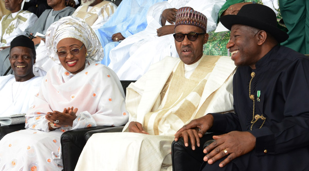 Jonathan set precedent that makes Nigerians proud globally —Buhari