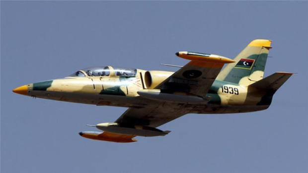 Libya's air force chief said the oil tanker ignored a warning before it was attacked [AFP]