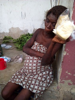 A similar case occurred in Ogun state where this woman was said to have given birth to a baby girl