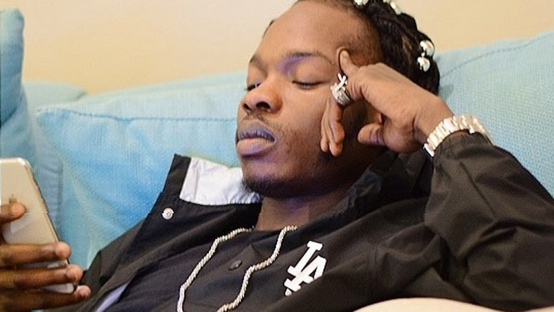 Followers Question Naira Marley's Mental State On IG After He Post This