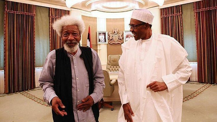 Soyinka Point Out One Area Buhari Has Failed In Governance