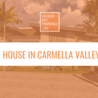 3 Bedroom House and Lot in Carmela Valley Executive, Talisay City, Negros Occidental