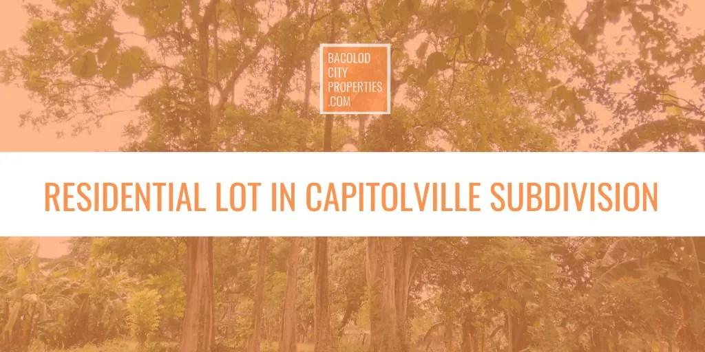 RESIDENTIAL LOT IN CAPITOLVILLE SUBD FEATURED IMAGE