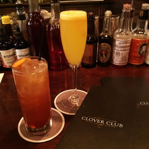 Meet me in Montauk and Man About Town Cocktails at Clover Club