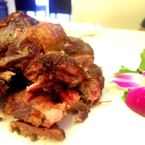 Flaming Kitchen Tea Smoked Duck
