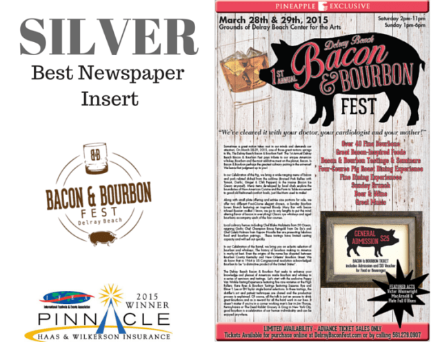 Silver - Best Newspaper Insert - B&B