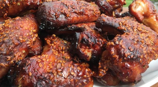 Teriyaki Sesam Chicken Wings