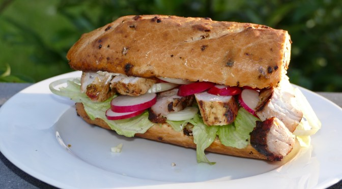 Tomahawk Sandwich