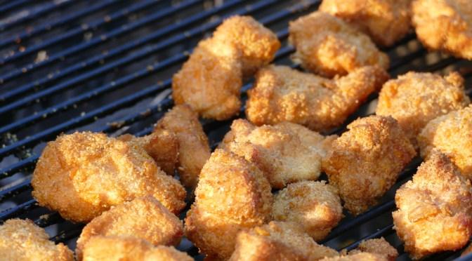 Chicken Nuggets vom Grill