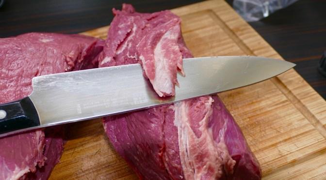 Steakhüfte zerlegen