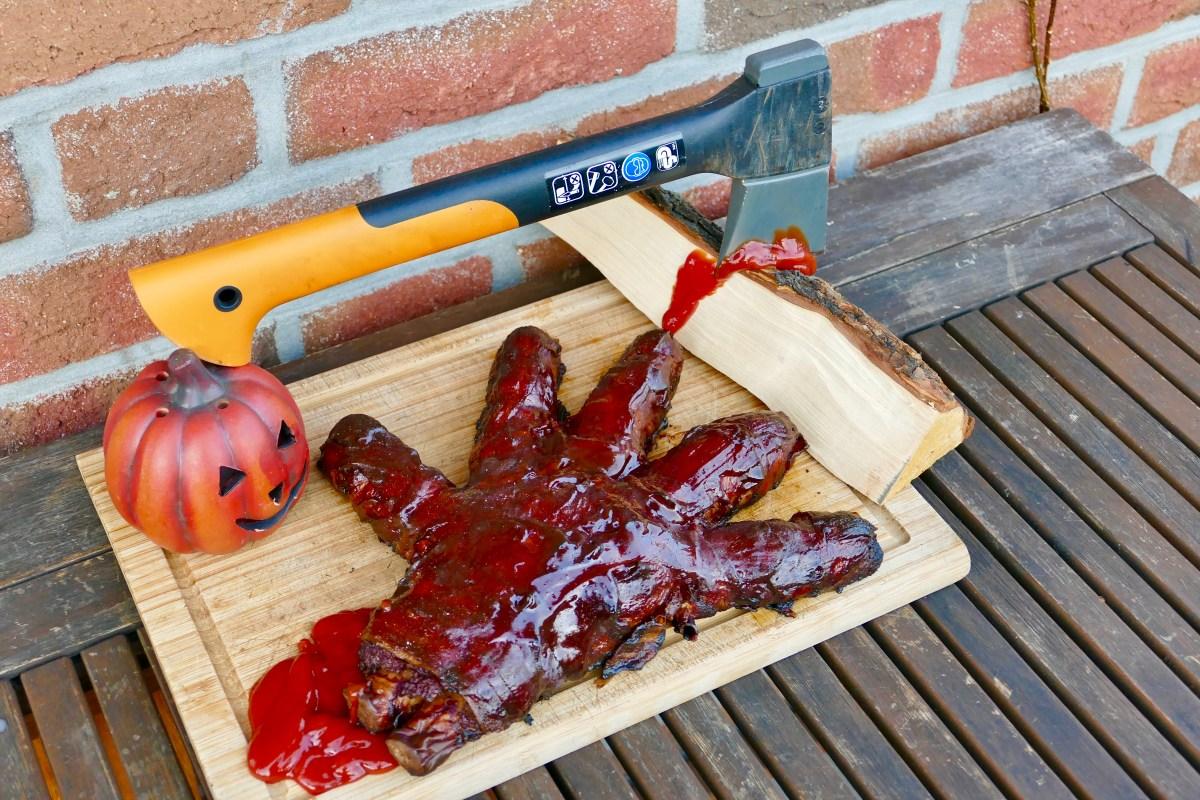 Zombie Hand // Halloween BBQ Special