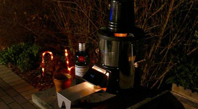 Glüh Gin vom Raketen Ofen