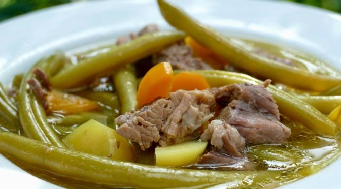 Grüne Bohnen Suppe