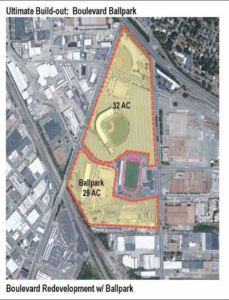 """Source: """"Revitalize RVA: An Economic Development Plan for Shockoe Bottom and the Boulevard."""" (Click for larger image.)"""