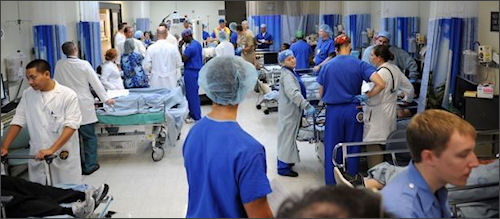 You thought emergency rooms were crowded? Just wait.
