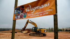 New wegmans site