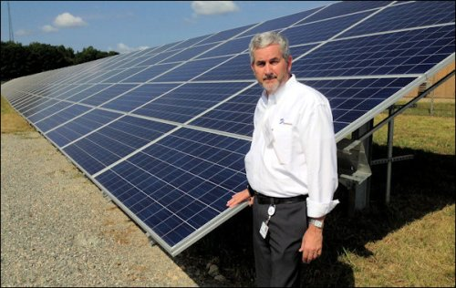 Brett Crable, director-new technology and energy conservation for Dominion Virginia Power.