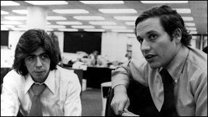 Woodward and Bernstein. The glory days of newspaper journalism are long gone.