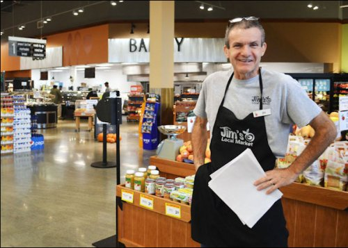 Inspired by a desire to wipe out food deserts, Jim Scanlon opened this Newport News store.