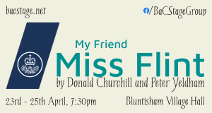 My Friend Miss Flint banner