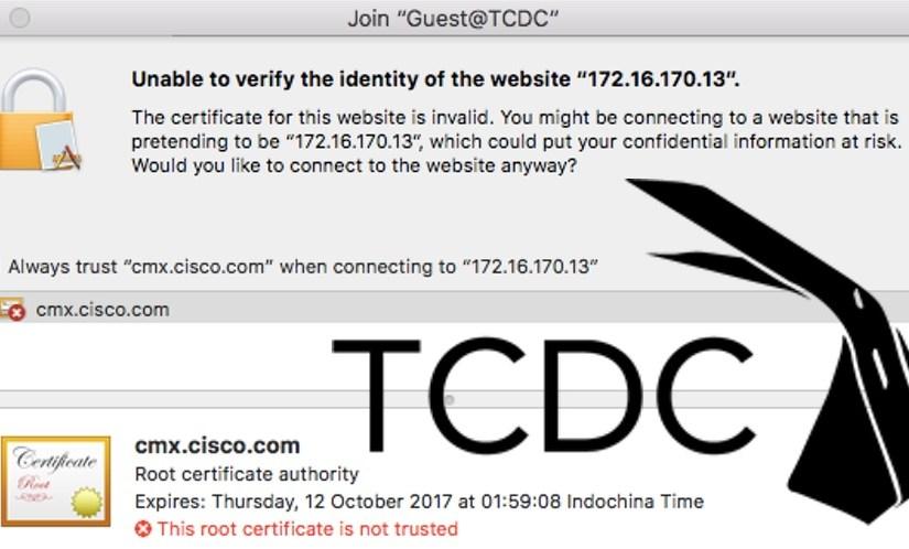 Bad TCDC Wifi