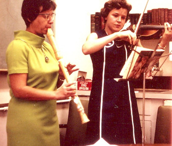 Esther Lederberg, Science and Music