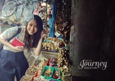 Vania - Beringharjo Traditional Market - Jogjakarta