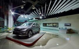 Liquid Interior - Honda Megatama Kapuk - Showroom Area