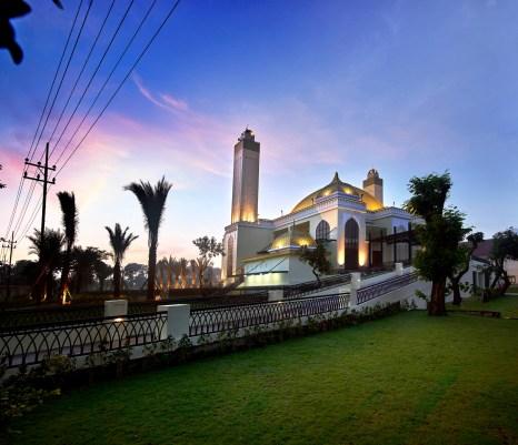 West Side of Arif Nurul Huda Mosque