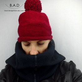 Snood casual chic polaire 02