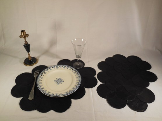 set de table Haute Couture