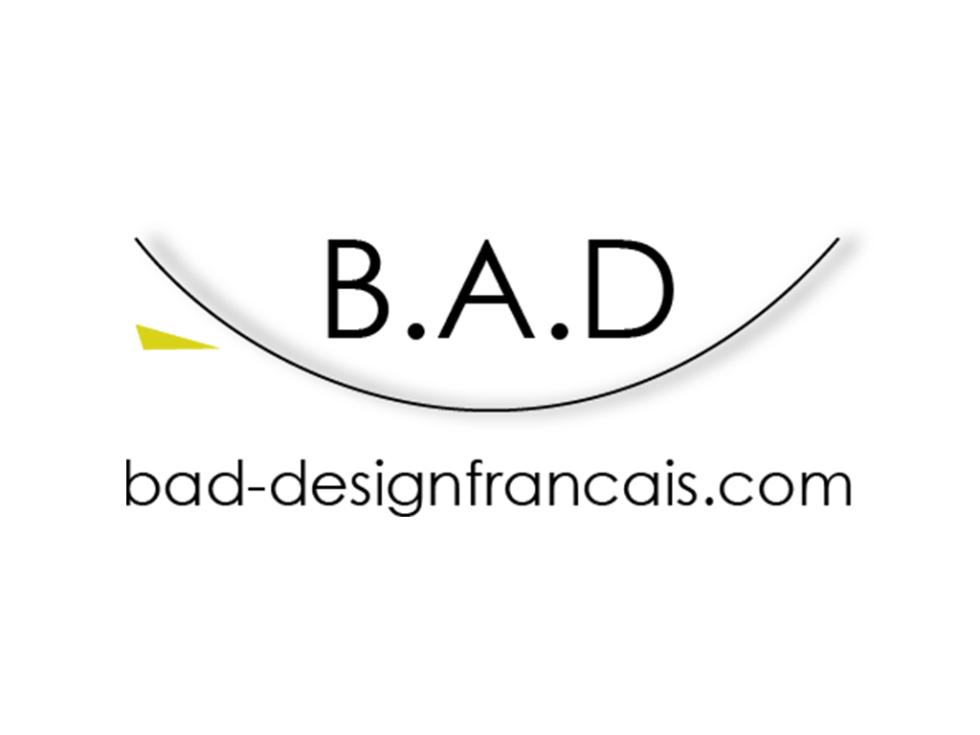 Logo symbole de l'audace de la société B.A.D design français