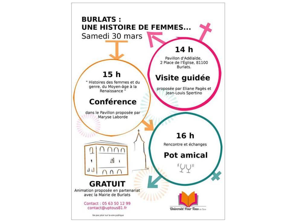 Affiche pour fêter les droits de la femme