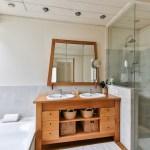 Badezimmer-dekos-einrichtung-Bodenfliesen